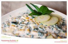 Dip cukiniowo-pietruszkowy - #przepis na dodatek do wędlin i mięs oraz pieczonych ziemniaków  http://pozytywnakuchnia.pl/dip-cukiniowo-pietruszkowy/  #dip #cukinia #pietruszka #kuchnia
