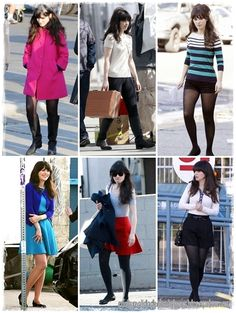 """Zooey Deschanel -- @Karla Gabriela: """"I wanna go into her closet and jack ALL of her clothes!!"""""""
