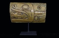 Tlingit Shaman's Amulet | Ex Reif Collection, Carved Bone | 19th century