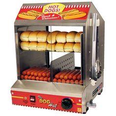 Paragon The Dog Hut Hotdog Bun Warmer Concession 8020