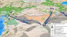 Russia's Defense Ministry published images and a map it says reveal a chain of oil smuggling to Turkey from Islamic State – from extraction to refining facilities. At least three ISIS oil supply routes were located, all leading to Turkey.