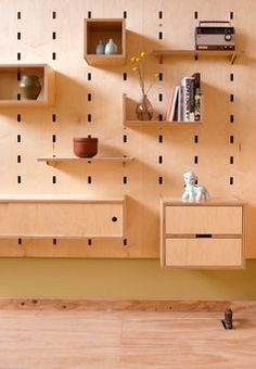 Kerf Wall Cubby Diy Furniture Modular Furniture Plywood Furniture