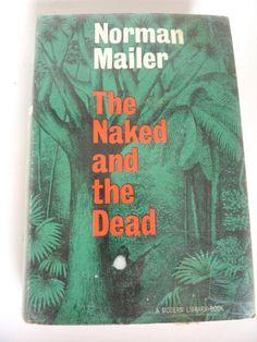 Best Seller Classic Book by Norman Mailer Modern Library Edition The Naked and the Dead World War II Novel Best War Novel Written