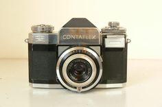Vintage Carl Zeiss Contaflex 35mm SLR Camera by CameraEmporium