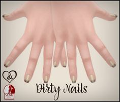 Adore&Abhor Dirty Nails Dollarbie