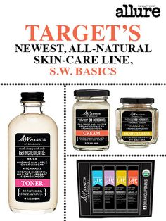 Target's newest collab? An awesome, all-natural skin-care line