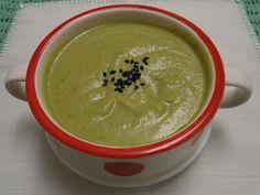 Es una crema deliciosa, ideal para una cena sencilla. - Receta Plato : Crema de brocoli muy sencilla por Maricarmen23
