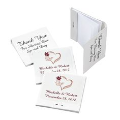 Personalized+Fall+Wedding+Matchbook+Notebooks+-+OrientalTrading.com