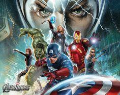 avengers movie art