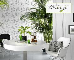 Neue Tapeten-Kollektion 'Summer Breeze' >< New wallpaper collection 'summer breeze' - #papier peint