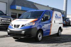 Miami Nissan NV200 Cargo Van 3M Vinyl Vehicle Wap  http://carwrapsolutions.com/Nissan-NV-Van-Vinyl-Vehicle-Wraps.html
