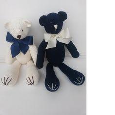 Urso Decorativo Crochê Médio