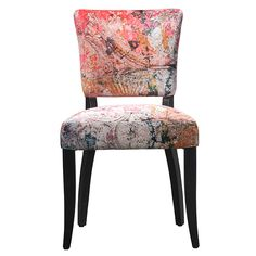 Timothy Oulton Mimi Faded and Degraded Dining Chair, Peeling Ceiling available online at Barker & Stonehouse. Browse our fabulous range today!