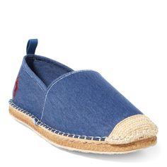 Defining modern luxury with romantic elegance and timeless style since Espadrilles, Timeless Fashion, Casual Shoes, Gentleman, Men's Shoes, Polo Ralph Lauren, Footwear, Mens Fashion, Navy