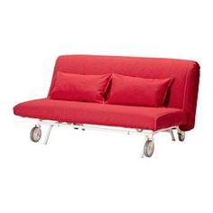 IKEA PS LÖVÅS Sofá cama 2 plazas - Vansta rojo - IKEA