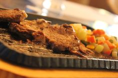 Sans Rival's Finest Sizzling Steak! Had a great Sunday last week with friends.