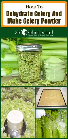 Step by step directions for dehydrating celery, making celery powder and calculating conversion amounts for cooking with dehydrated food. Best Nutrition Food, Nutrition Guide, Health And Nutrition, Health Tips, Nutrition Websites, Nutrition Products, Nutrition Articles, Fitness Nutrition, Pineapple Health Benefits