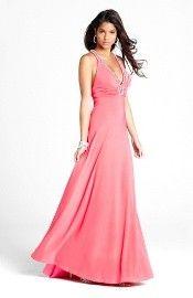 2013 Style A-line V-neck Beading Sleeveless Floor-length Chiffon Red Prom Dress / Evening Dress Unique Prom Dresses, Pink Prom Dresses, Backless Prom Dresses, Prom Dresses For Sale, Affordable Dresses, Event Dresses, Homecoming Dresses, Formal Dresses, Dresses 2013