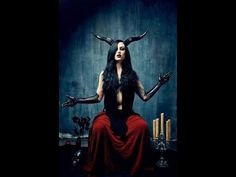 'As Above - So Below' - Baphomet. Alchemical symbol for the unification of the elements. - Pinned by The Mystic's Emporium on Etsy Baphomet, Dark Beauty, Gothic Beauty, Foto Poster, Arte Obscura, Maquillage Halloween, Foto Art, Dark Photography, Angels And Demons