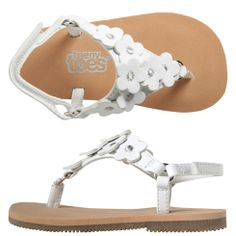 Girls Teeny Toes Girls  Infant Charlotte Multi-Flower Sandal  14.99 only  goes to size 4 but think they have a toddler version