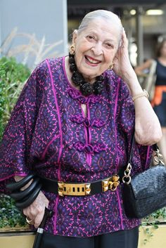 ADVANCED STYLE: Beauty Secrets From Two Very Stylish 101 Year Old Ladies