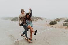 California Cruising: Roadtripping the Central Coast — Eryn Krouse Skateboarding Couples, Cute Relationship Goals, Cute Relationships, Cute Couples Goals, Couple Goals, Couple Photography, Photography Poses, Skater Couple, Editorial Photography