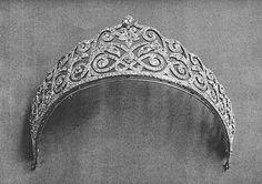 Тиара княгини Лобановой-Ростовской, урожденной княжны Долгорукой. Tiara of princesse Lobanov-Rostov, née princesse Dolgoroukaya.