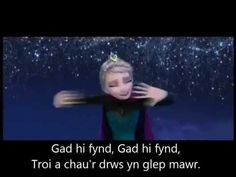 Welsh Angel ... Let it Go (in Welsh) with lyrics - YouTube
