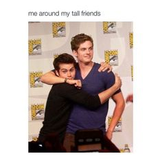 Dylan O'Brien and Daniel Sharman