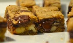 Recipe: Chocolate Chunk Blondies from The Barefoot Contessa: Foolproof
