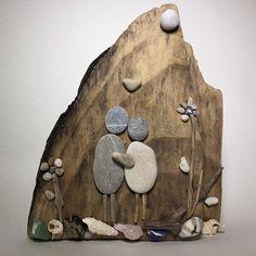 Steinbild #steine #stone #stones #wood #woodart #woodstone #nature #naturelovers #bilder #leinwand #deko #wanddeko #stoneart #stone #art #artwork #instapic #picoftheday #pictureoftheday #instagood #landshut #niederbayern #kunst #kunstwerk #family #liebe #flowers #herz #familia #familie