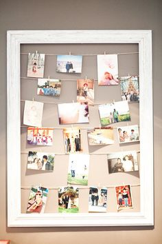 20 Cool DIY Photo Collage For Dorm Room Ideas The best thing about having a dorm room is able to decorate a dorm room as you wish. There are so many options that you can apply decorations out there, but my personal favorite is a photo collage Collage Foto, Collage Frames, Photo Collages, Paper Frames, Photowall Ideas, Diy Foto, Photo Deco, Hanging Photos, Photo Hanging