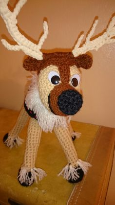Sven    Thanks to Becky Ann Smith for sharing cute Frozen characters  patterns