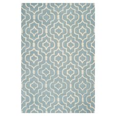 Found it at AllModern - Yarmouth Blue & Ivory Rug