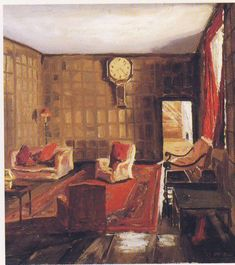 A Room at Breccles, Norfolk by Winston Churchill