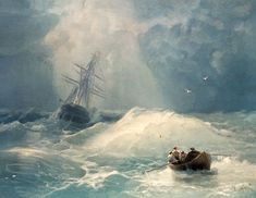 Titolo dell'immagine : Iwan Konstantinowitsch Aiwasowski - Stormy day