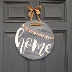 Image result for distressed door hanger ornament