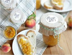 old fashioned peach jam recipe #peaches #canning