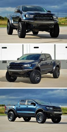 These Guys Built America A Ranger Raptor Before Ford Ford Raptor, Ford Ranger Raptor, Lifted Trucks, Ford Trucks, Pickup Trucks, Diesel Trucks, Customised Vans, Small Pickups, 2020 Ford Ranger
