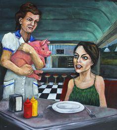 You ordered bacon? - Dana Ellyn