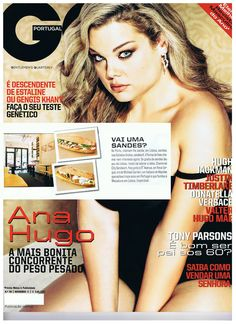 Our bilingual chef has been featured in magazines such as GQ Portugal! Gq Magazine, Magazines, Portugal, Lisbon, Journals, Magazine