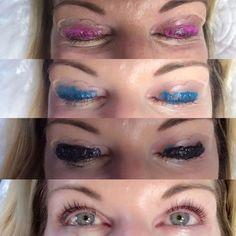 cbbbae2a1ab Lash Lift and Tint Process. #eyebrows Eyelash Lift And Tint, Eyelash  Tinting,
