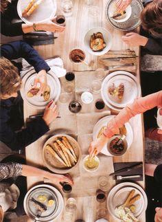 Dinner parties = love.