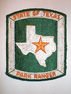 Texas-STATE-Park-RANGER patch