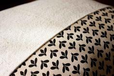 Cuscinetto in tela di cotone _ dettaglio