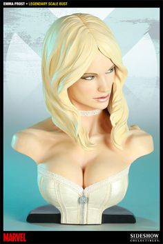 Sideshow Collectibles - Emma Frost Legendary Scale Bust