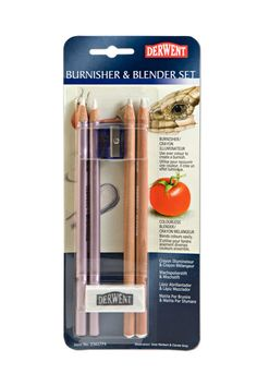 The blender will blend colors, smooth layers and soften hard edges of colored pencil artwork.