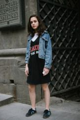 Street style at Tbilisi Fashion Week Fall 2017