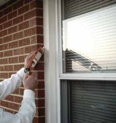 Fall Home Maintenance Tips. Be sure to caulk around windows and doorframes to prevent heat from escaping. Caulking and sealing openings is one of the least expensive maintenance jobs. Openings in the structure can cause water to get in and freeze, resulting in cracks and mold buildup.
