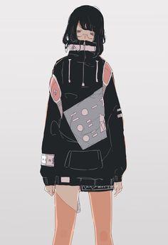 Cartoon Kunst, Cartoon Art, Cute Cartoon Wallpapers, Animes Wallpapers, Manga Girl, Anime Art Girl, Pretty Art, Cute Art, Aesthetic Art